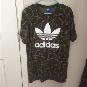 Camo Adidas Shirt